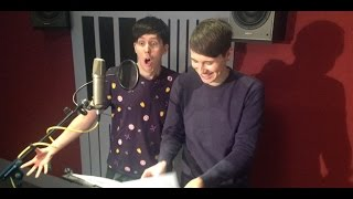 BIG HERO | Dan and Phil record | Official Disney UK