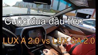 Cuộc đua đầu tiên giữa VINFAST LUX sedan và LUX suv   Trải nghiệm VINFAST LUX  SUV 2.0