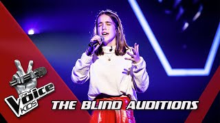 Elisabeth - 'Without Me' | Blind Auditions | The Voice Kids | VTM
