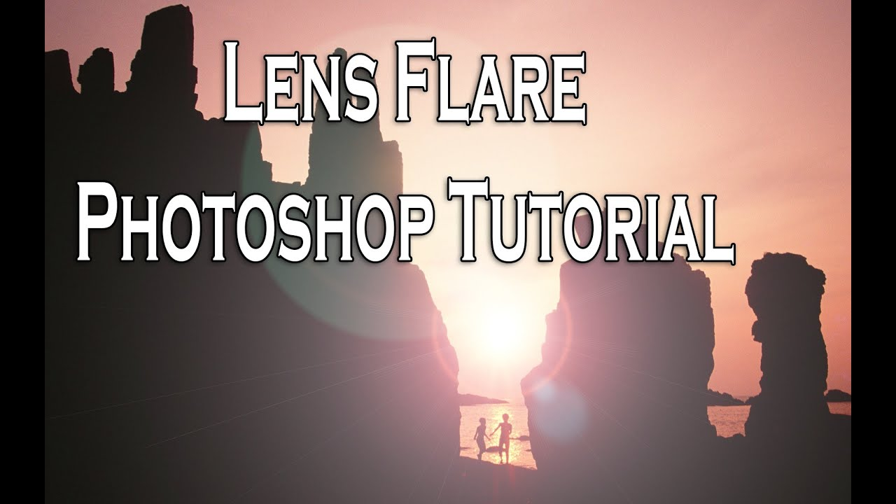how to add lens flare in photoshop cs6