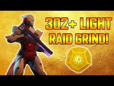 DESTINY 2 - 302+ POWER HUNTER RAID READY CHARACTER! (Destiny 2 Leviathan Raid)
