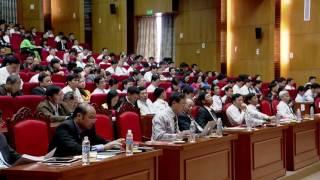 Quán triệt chỉ thị số 05 của bộ chính trị, chương trình hành động số 22 của ban thường vụ tỉnh ủy