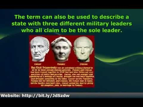 an analysis of the first triumvirate which consisted of julius caesar crassus and pompey Pompey, or pompey the great, was a well known military leader of rome he never appears in shakespeare's play, as he's just been defeated by julius caesar in battle so he's not really very .