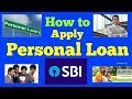 How to Apply SBI Personal Loan | Complete Guide on SBI Express CreditSBI Saral