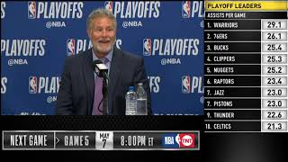 Brett Brown postgame reaction | Raptors vs Sixers Game 4 | 2019 NBA Playoffs