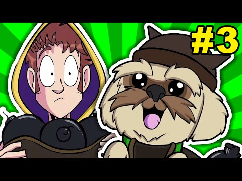 Tobuscus Animated Adventures: Wizards (cut Scene #3) video