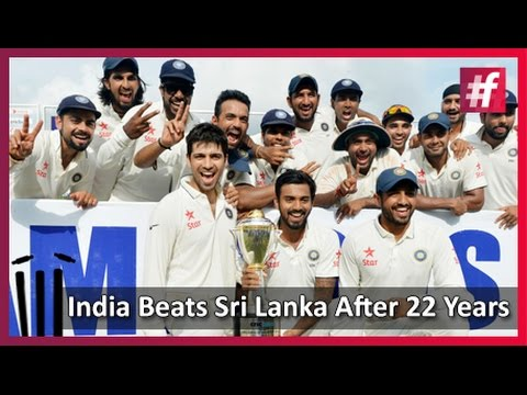 #fame Cricket - India Beats Sri Lanka After 22 Years!!