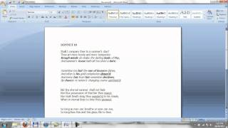Step by step instructions on how to write a sonnet