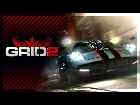 GRID 2 Gameplay first look - California Coast (Eurogamer Expo)