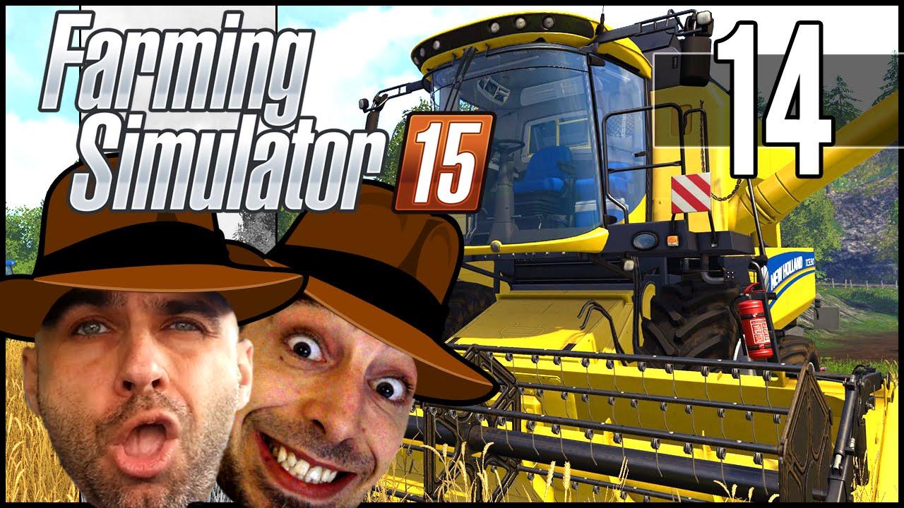 "Farming Simulator 15 : Euro Truck Simulator! - Ep.14: <a href=""http://youtu.be/qbgBAMkosEk"" class=""linkify"" target=""_blank"">http://youtu.be/qbgBAMkosEk</a>"