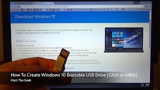 How To Easily Create Windows 10 Bootable USB Drive