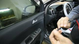 Kia Sportage 2016  Disassembly door-Разборка двери #2