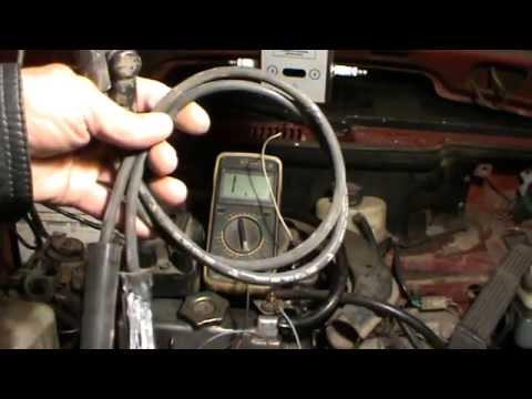 Видео как проверить провода зажигания мультиметром