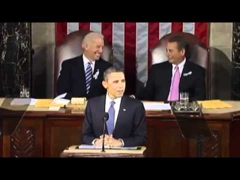 Boehner holds tears back during 2011 State of the Union