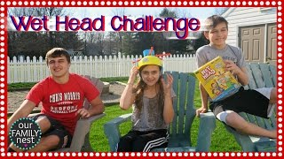 THE WET HEAD CHALLENGE EXTREME WITH RAINBOW COLORS!