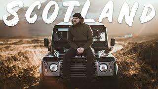 Driving a Defender around Scotland!