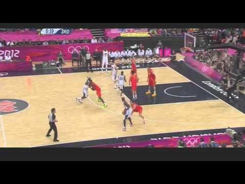 USA Highlights (All Baskets) vs Spain Finals
