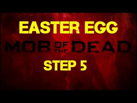 Mob of the Dead Easter Egg Step 5 - Obtaining the 4th Afterlife Skull on the Prison Roof