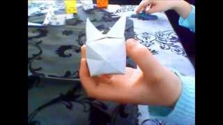 Simple Origami To Make Cube Shape Animals