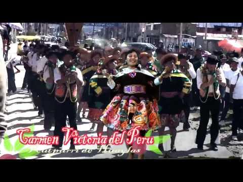 Carmen Victoria Del Perú - Mix De Huaylas (CHROMA FULL HD)))