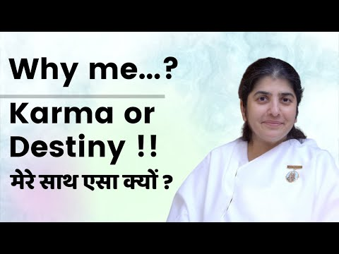 Why Me...? Karma Or Destiny!- Talk By Bk Shivani At Pune On 13th Sept 2014 video