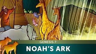 Sunday School Lesson - Noah's Ark - Genesis 7 - Bible Teaching Stories for VBS