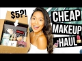 CHEAP MAKEUP HAUL + AFFORDABLE DUPES FOR HIGH END MAKEUP 2017!