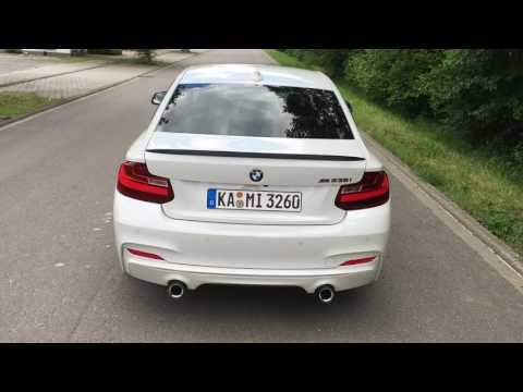 BMW M235i M Performance Exhaust --- Loud Revs