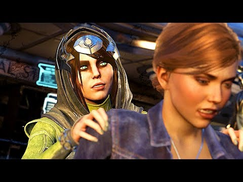 INJUSTICE 2 Enchantress All Intros Dialogue Character Banter 1080p HD
