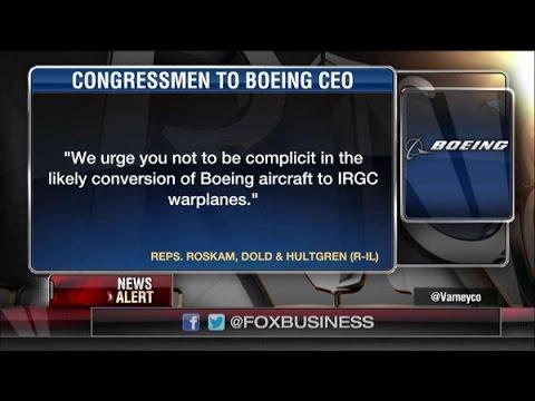 Ambassador John Bolton on Rep. Roskam's Boeing Letter