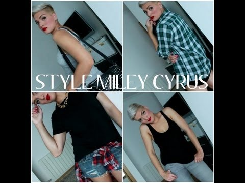 Style Miley Cyrus 4 Outfits Youtube