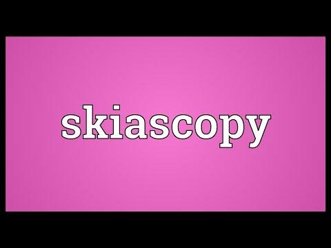 Header of skiascopy