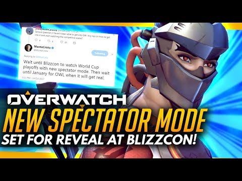 Overwatch | NEW SPECTATOR MODE AT BLIZZCON + Lootbox Petition Misinformation