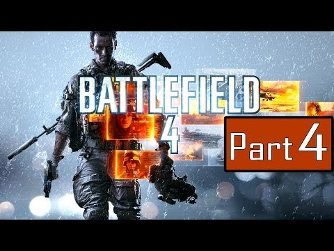 Battlefield 4 Gameplay Walkthrough Part 4 - South China Sea - Campaign Mission 3 (Lets Play BF4)