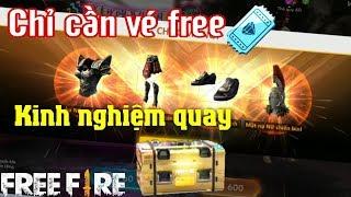 Free Fire | Kinh Nghiệm Phá Vòng Quay Trúng Vật Phẩm Hiếm Không Tốn Kim Cương | Meow DGame