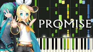 Promise (Samfree) Miku And Rin - Piano Synthesia