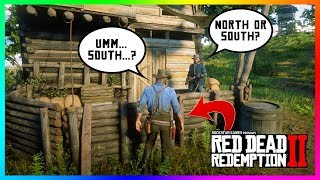 What Happens If Arthur Tells The Civil War Veteran He Fights For The South In Red Dead Redemption 2?