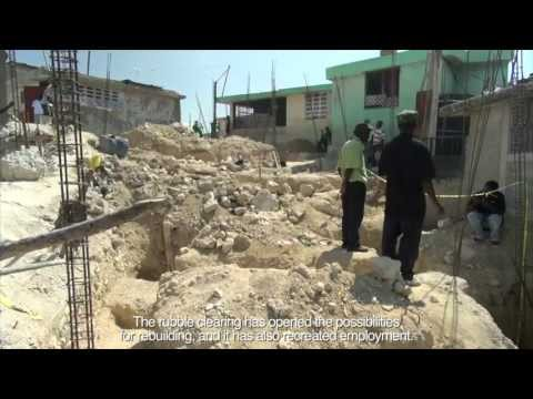 Making Way for Haiti's Reconstruction: Rubble Removal