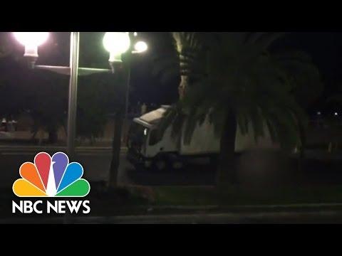 Video Shows Truck Driving Through Crowd | NBC News