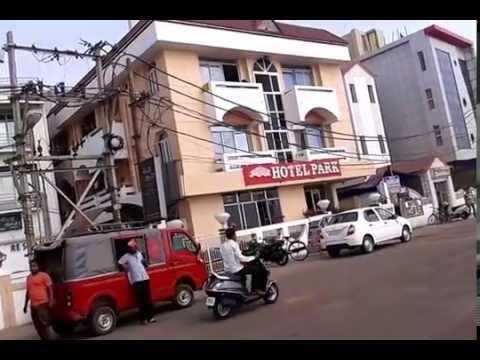 Road beside Hotels of Puri, Odisha