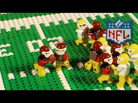 NFL: Green Bay Packers @ Washington Redskins (Week 11, 2016) | Lego Game Highlights