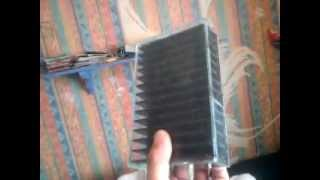 TEG, thermal electric generator build - the heat sink