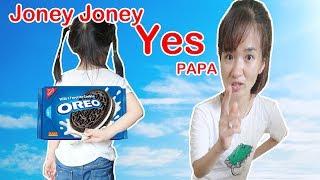 Bé Ăn Vụng Đồ Ăn - Johny Johny Yes Papa kid song ♥ Dâu Tây Channel