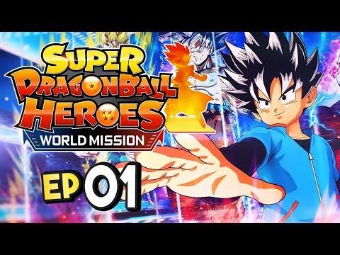 Super Dragon Ball Heroes World Mission Nintendo Switch Part 1 MEET GOKU!? Gameplay Walkthrough