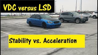 Infiniti VDC, ABS, TCS, SLIP. Stability & Dynamic control systems, Part 1