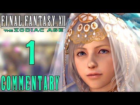 Final Fantasy XII The Zodiac Age Walkthrough Part 1 - Ashe's Wedding & The Great War (PS4 Gameplay)