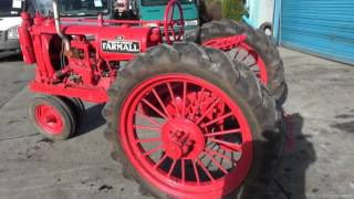 1932 McCormick-Deering F20 Farmall 2WD Vintage Tractor For Auction