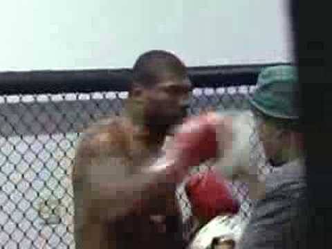 BOOST MOBILE BEHIND THE SCENE TRAINING WITH RAMPAGE JACKSON