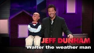 """""""Walter the weather man"""" 