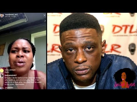Exposed On Camera! Lil Boosie Threatens To Put A 'Hit' On His Baby Mama Just Like He Did Her Brother